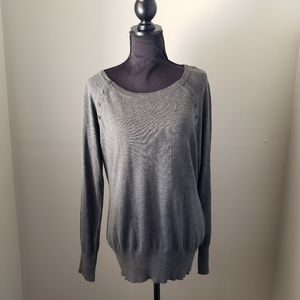Kenneth Cole Gray Women's Pullover Sweater